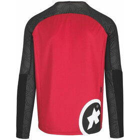 assos Trail LS Jersey Men rodo red